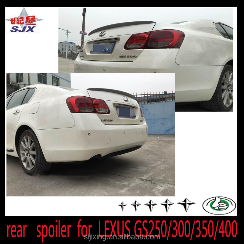 2008-2012 GS250 GS350 GS450 Carbon Fiber F Sport Style Trunk Spoiler For Lexus
