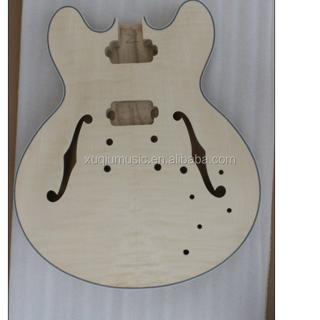 DIY Unfinished Electric Bass Guitar Kit for Sale