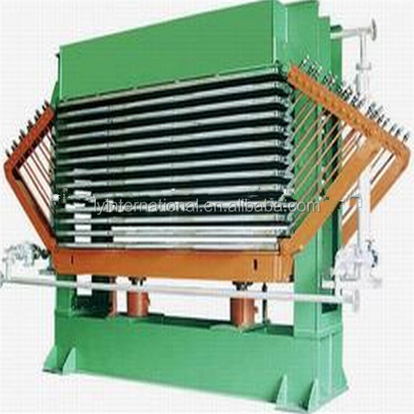 worthy of trust hot press type wood veneer dryer