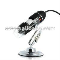 USB Digital Microscope for Computers (400x, 8 Super-Bright LEDs) - K149