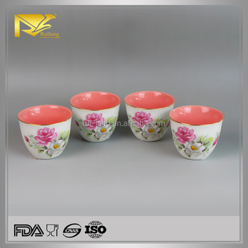China Wholesale Ceramic Flower Design Tea Cup,Mug Cup,Wide Mouth Tea Cup -  Buy Tea Cup,Mug Cup,Wide Mouth Tea Cup Product on Alibaba com