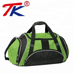 Wholesale Custom Sports Duffle With Shoe Compartment Travel Bag