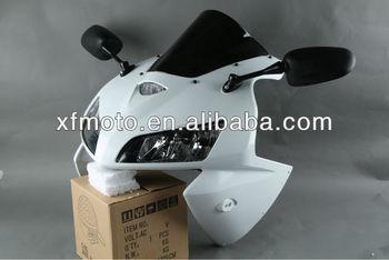 ホンダcbr600rr 2005 2006オートバイヘッドライト アッパーフェアリング ミラー ウインドスクリーン Buy Cbr600rr