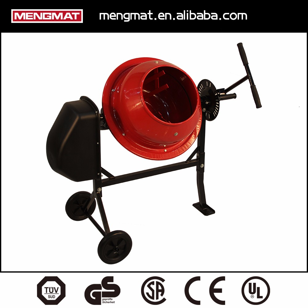 46L small electric portable cement mixer,concrete mixer machine