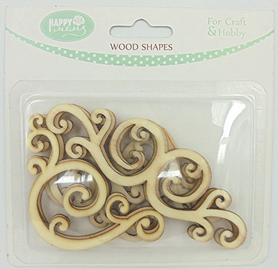 Bird house and bird shape wood carving pieces laser cut wood craft shape