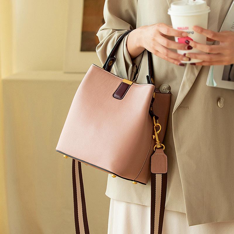 2019 Amazon แฟชั่นกระเป๋าถือผู้หญิงกระเป๋าสะพายหนังกระเป๋า