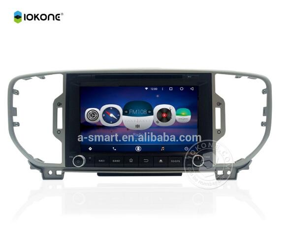 HD video touch screen car dvd player system player for KIA sportage 2004 - 2010 - 2012 2016 Radio mirror link entertai