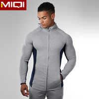 2017 Factory OEM gym wear men fitness dry fit sport jacket mens fitness clothing gym wear men