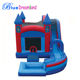 Well-designed Blue Dreamland castle inflatable bouncers inflatable slides
