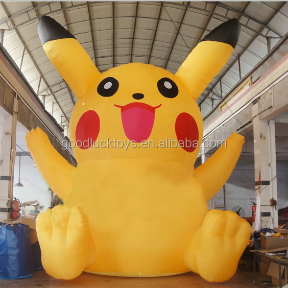 Giant inflatable pokemon pikachu for advertising/ inflatable Pocket Monster