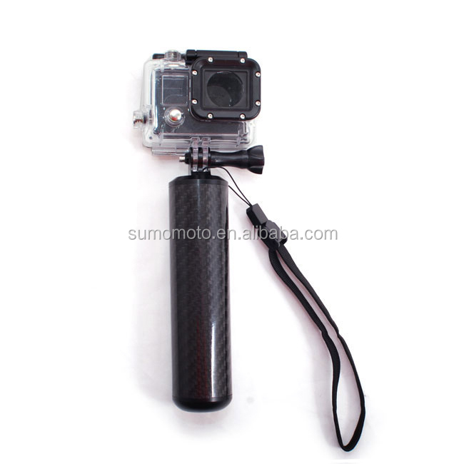 Gopros dome GoPros mounts Carbon float handle grip with tripod mount for 5/4/3