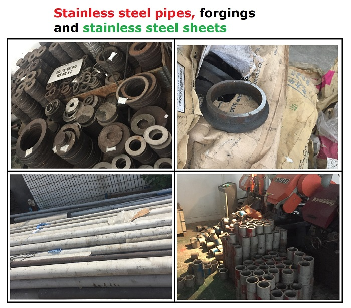 Stainless steel hose fitting / stainless flexible hose / moulded bellows