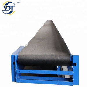 High Performance widely use pvc belt conveyor used for parcel express and logistic company with factory price