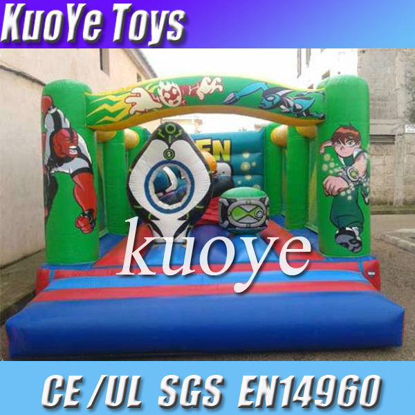 inflatable ben 10 bouncer games,commercial moon bounce sale,bouncer trampoline for children