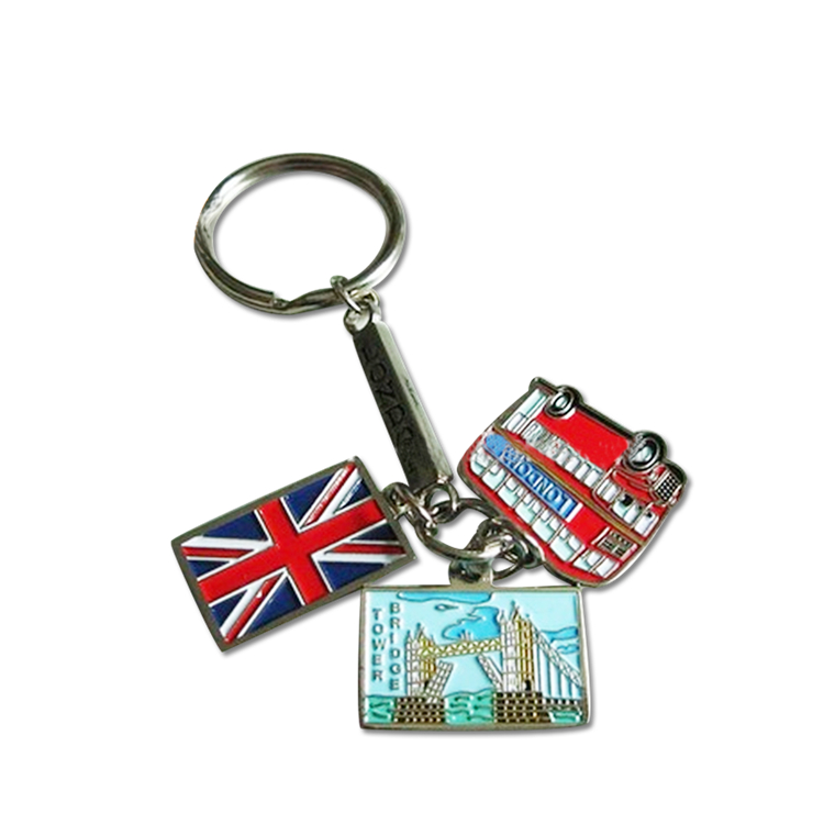 Top quality custom fashion wholesale keychain zinc alloy for sale