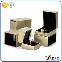 Customized high end leather plastic jewellery box uk