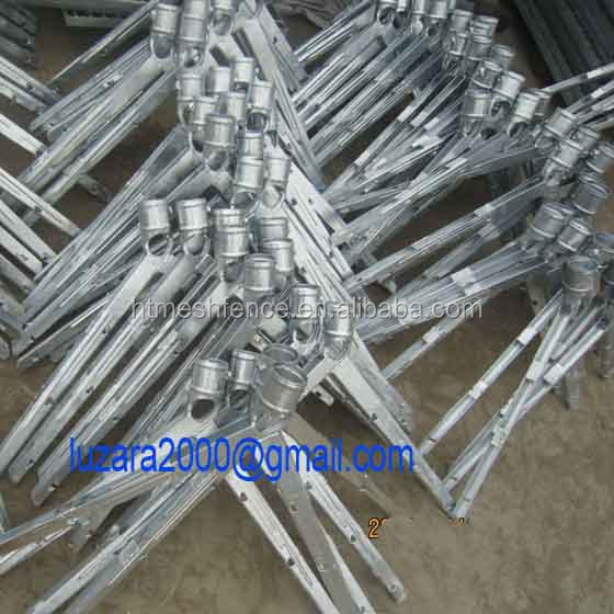 Y Fence Post Extension Arm Barbed Wire V Arm Buy Barbed