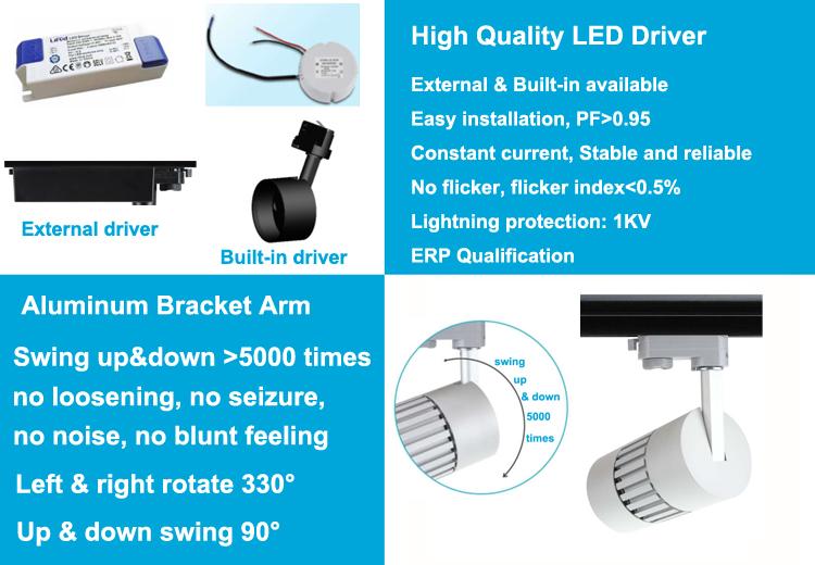 30W track light LED 3