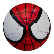 Factory wholesale customize cheap spiderman soccer ball for kids