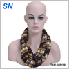 New style 100% Polyester floral printed fashion infinity scarf Loop Scarf