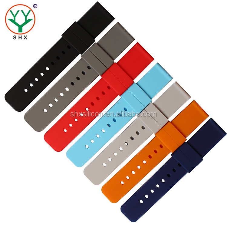 New design Customized watch silicone band for smart watch