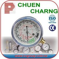 r22, r134a, r410 refrigeration manifold gauge