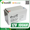 Best battery for solar power rechargeable 12v 100ah gel and agm lead acid battery