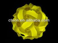 Modern Ceiling Pendant Contemporary IQ lights Jigsaw Puzzle Ze Lamp Light Shade M,L,XL Jigsaw Puzzle Lamp