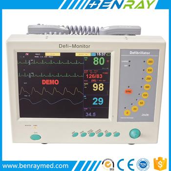 Br-df02 Aed Defibrillator Hospital Portable Patient Monitorheart Devices  Defibrillator - Buy Aed Defibrillator,Cost Of A Defibrillator,Home