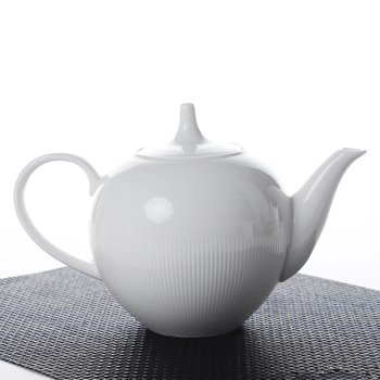 500ml & 1100ml China Supplier European Style Fancy Ceramic Porcelain Tea Coffee Pot for Banquet Wedding Events^