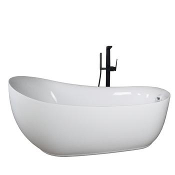 Ergonomic Design Acrylic Common Plastic Soaking Tub