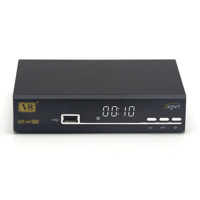 ODM&OEM Factory Wholesale Freesat V8 Super Satellite Receiver DVB-S2 Key Channels satellite <strong>tv</strong> decoder With Free IPTV