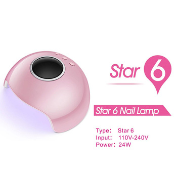 2018 New Arrival Portable Led Uv Nail Lamp24w Uv Lamp Led Dryer
