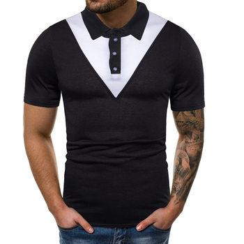 New style good quality men breathable casual polo shirt