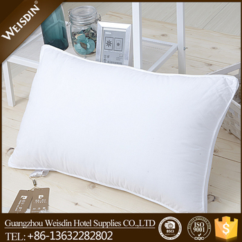 hot sale polyester fabric square feather down cushion pillow inserts