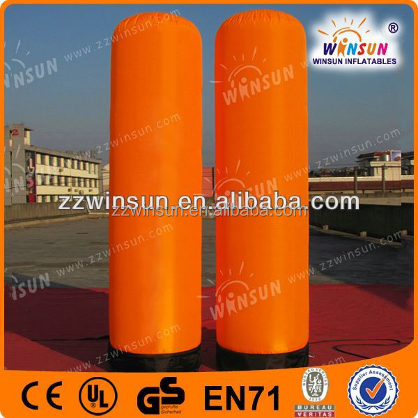 Advertising display Inflatable totem, inflatable lamp pole with LED light