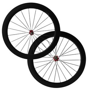 CSC 700C 60mm Tubular Road Bicycle Carbon Wheelset