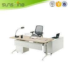 Newest special apple wood color executive desk