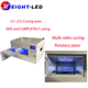 high power LED UV Curing oven for uv glue, resin dryer for different application