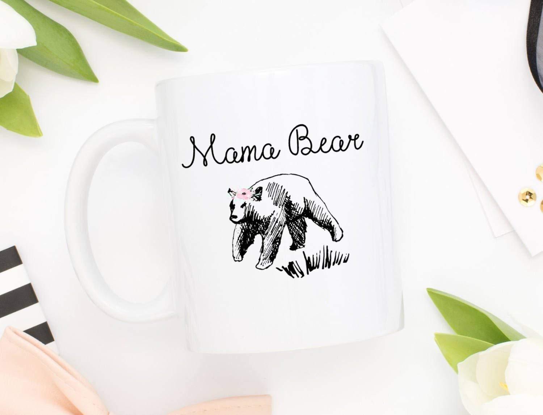 Mother's Day Mug | Coffee Mug | Mama Bear Mug | Gift for Mom | Mom Mug | Mother's Day Gift | Funny Mug | Tea Mug | Bear Mug | New Mom Gift