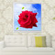 Colorful Flower Rose 5D Acrylic Crystal Canvas Diamond Painting Home Decor Kids Room Wall Decoration sticker