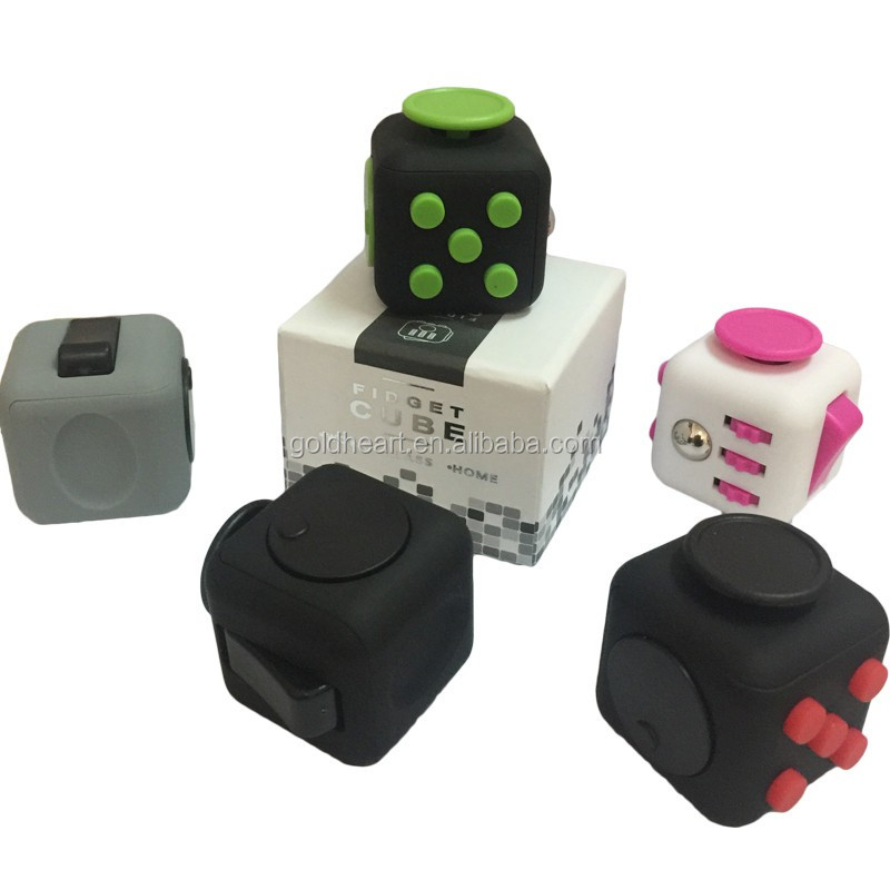 2017 best selling products fidget cube stress relief toys,high quality fidget cube with buttons