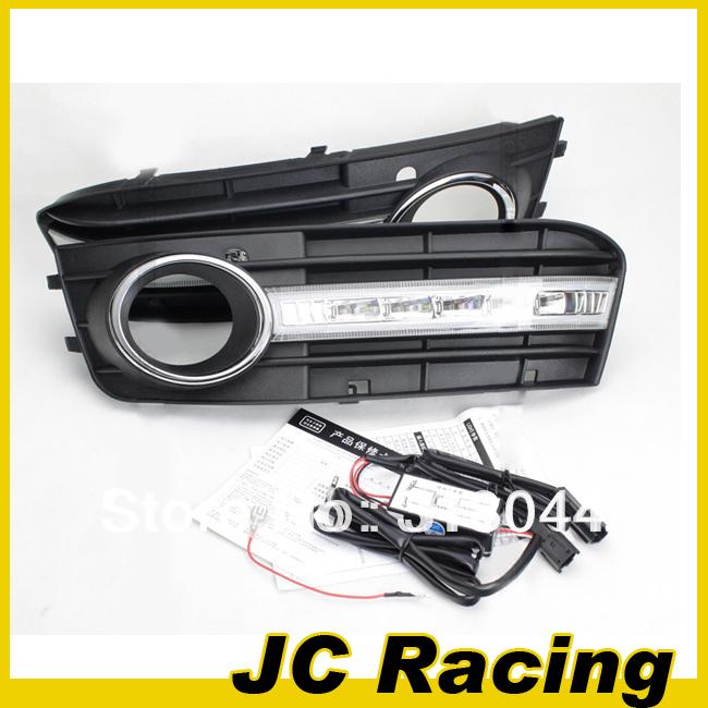 09-12-A4-ABS-LED-Car-DRL-LED-Daytime-Running-Light-CAR