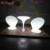 Rechargeable 16 colors waterproof outdoor decorative illuminated led tables and chairs for events