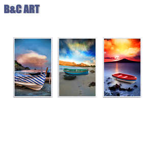 Colorful Sky Art Canvas Print Modern Home Decoration Artwork for Sale