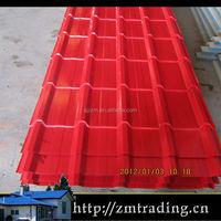 Glazed Galvanized Roofing Sheet Oriental Roof Tiles
