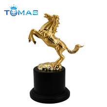 Hot selling animated metal horse sculpture trophy