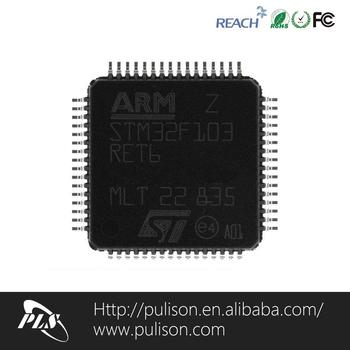 Stm32f103-retb Cortex-m3  Coreตามcpuที่มี72เมกะเฮิร์ตซ์ความเร็วicชิปที่มีรา