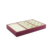 Hot sale capacity velvet jewelry tray display for earings