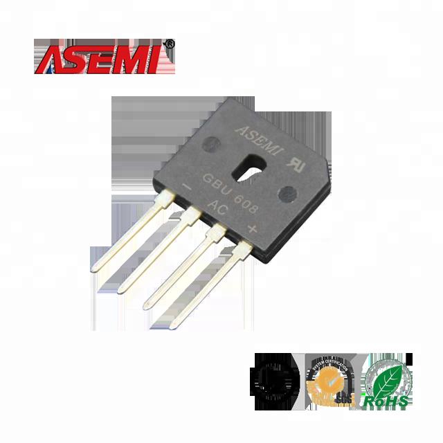 6A 800V GBU606 Taiwán Semiconductor rectificador en puente